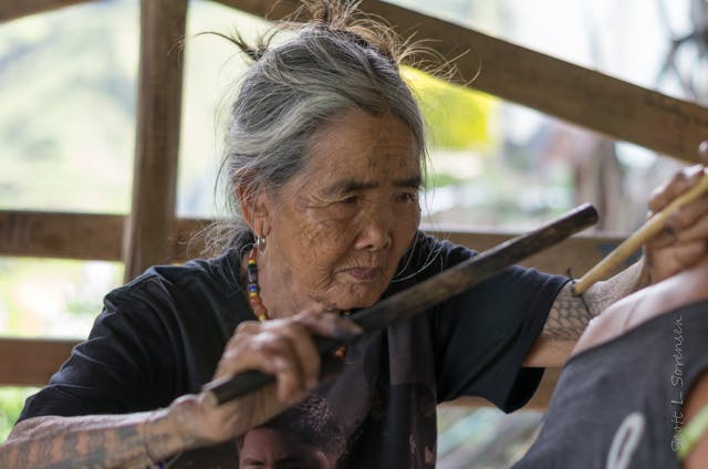 Whang-Od tattoo