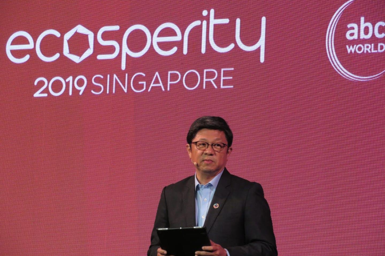 Temasek's sustainability chief Robin Hu