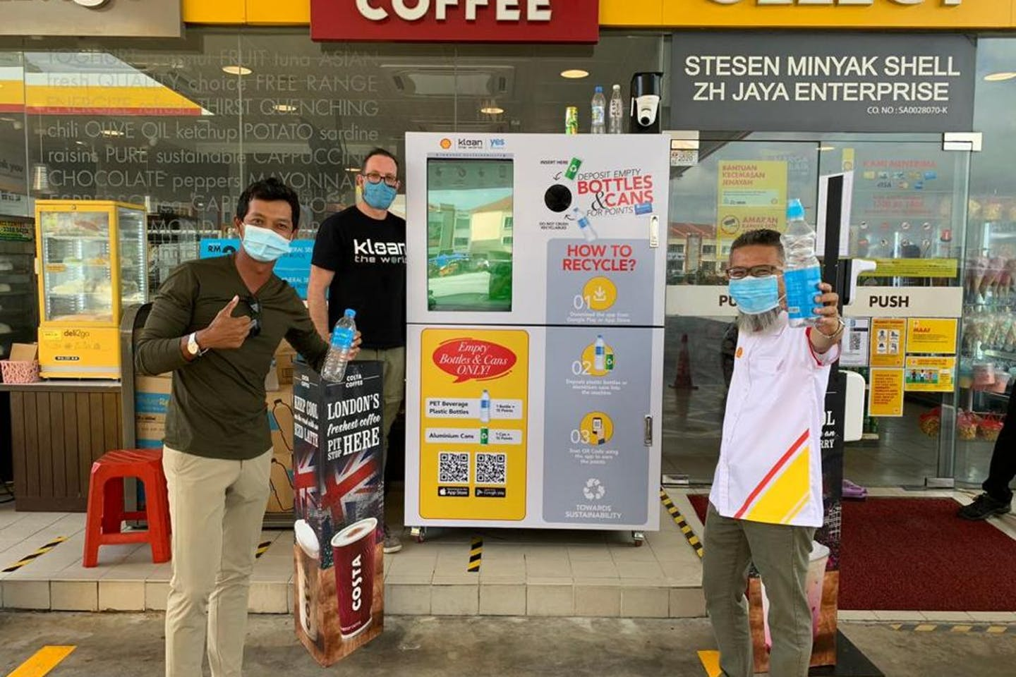 Klean's reverse vending machines are scaling up their plastic waste movement across Southeast Asia
