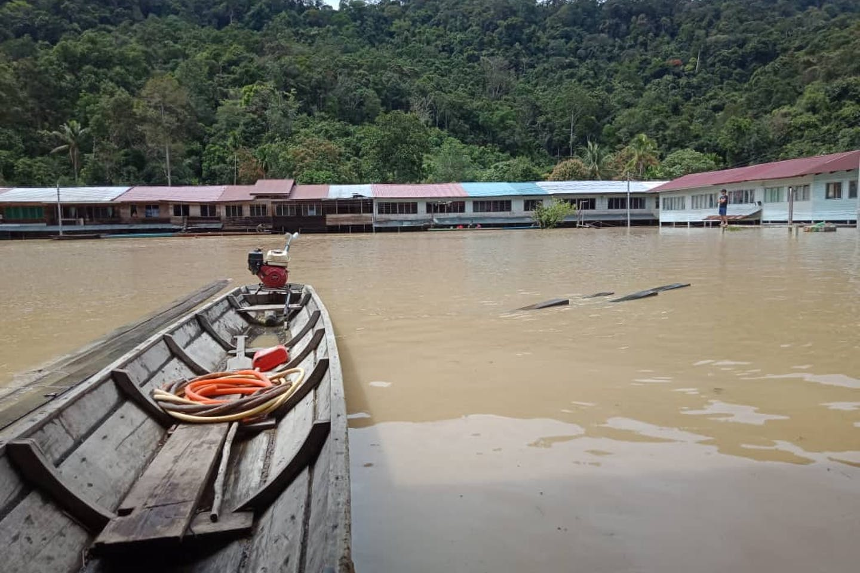 Long Tungan flooding