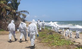 Sri Lanka braces for fallout of sunken ship's toxic cargo