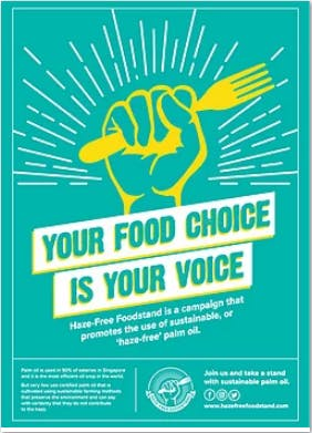 Your food, your choice - PM.Haze campaign