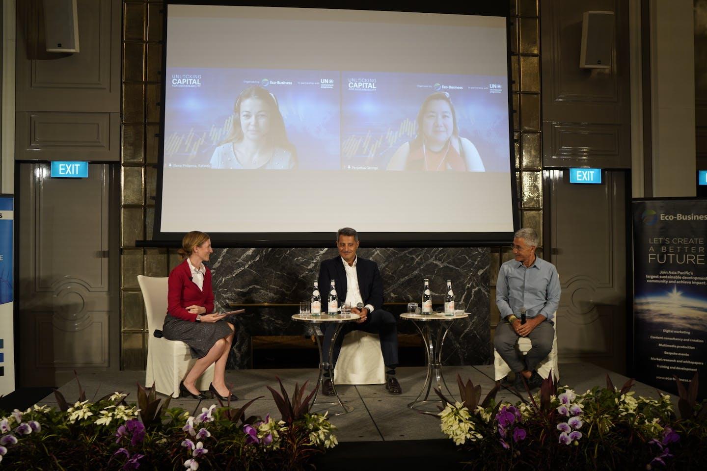 Unlocking Capital for Sustainability panel