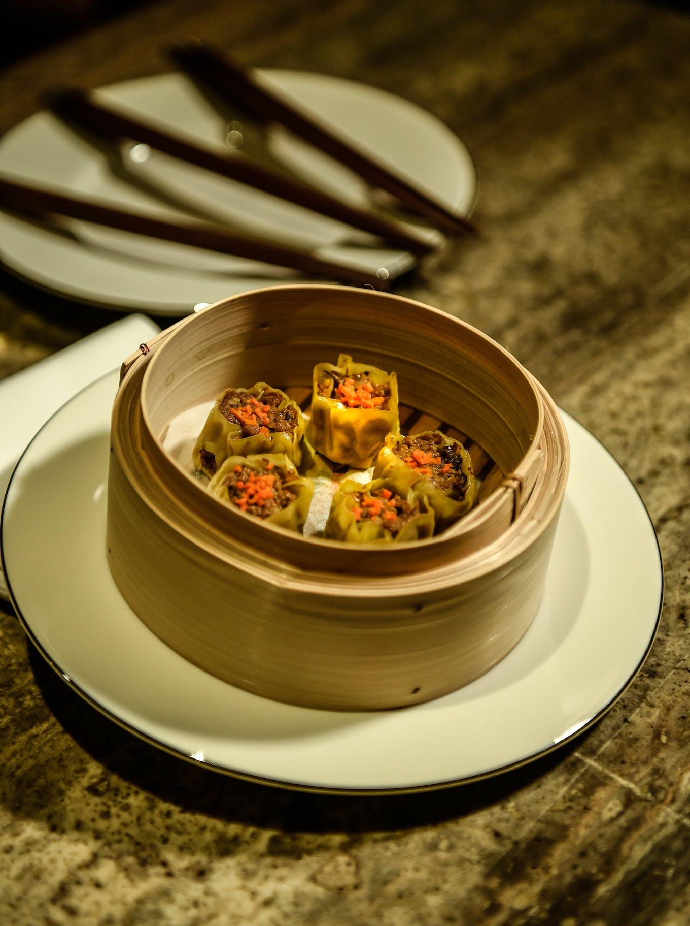 Shiok Meats Shrimp dumplings