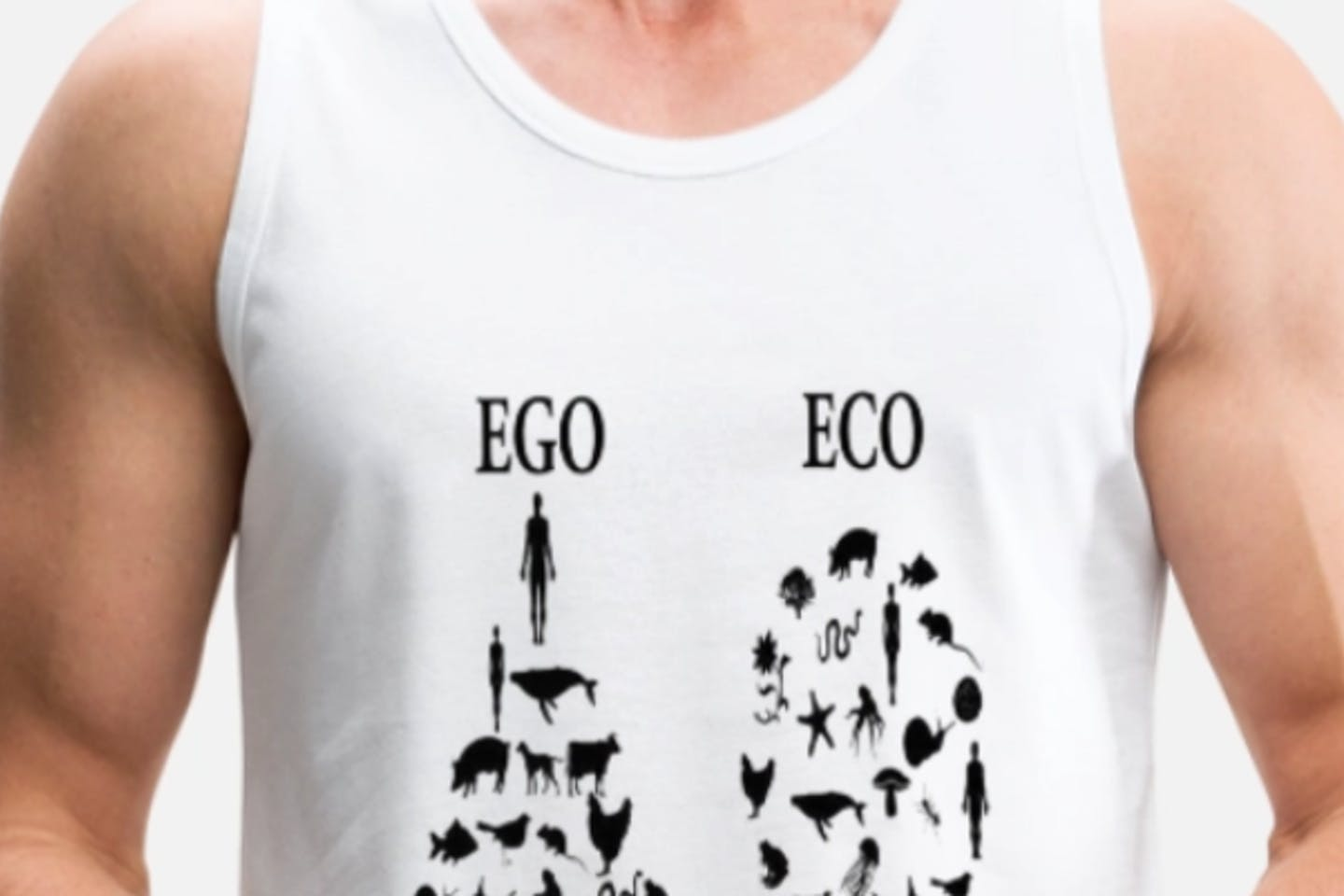 Ego not eco t-shirt