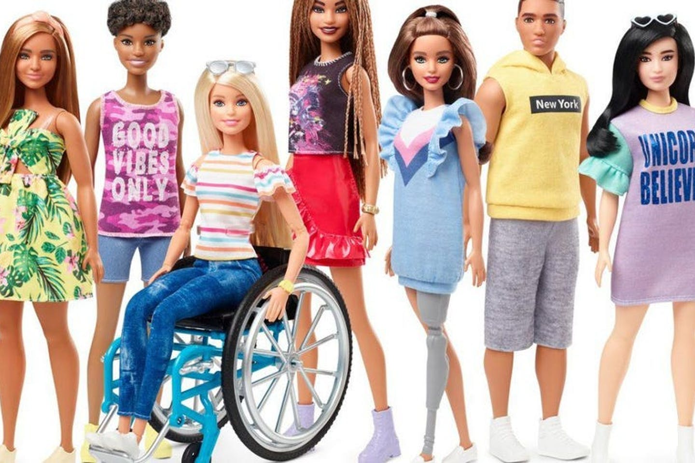 barbie dolls inclusivity