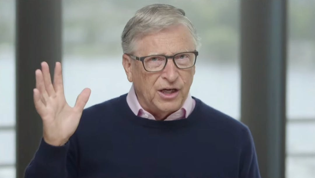 Bill Gates, co-chairperson, Bill and Melinda Gates Foundation