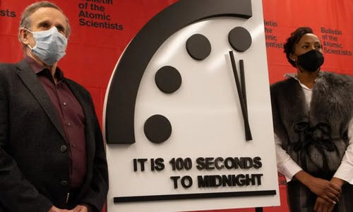 Covid-19 and the Doomsday Clock