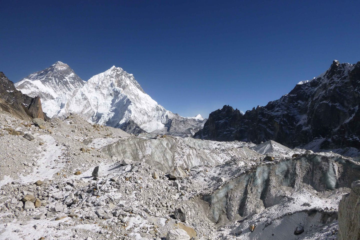 Changri Nup glacier (Everest region)