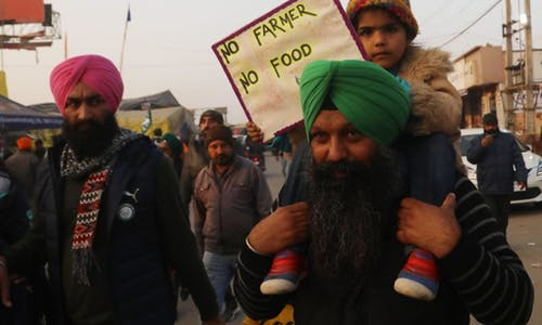 Climate crisis is foundation of Indian farmers' protests