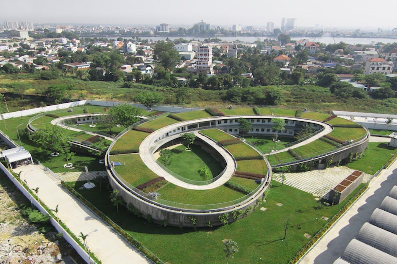 green kindergarten in vietnam