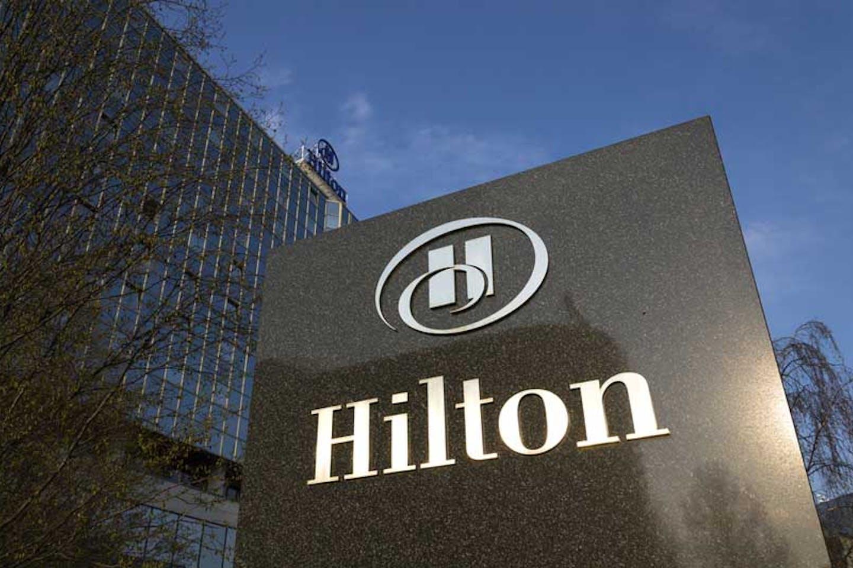 Hilton Hotels.