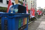 Recycling bin in Singapore