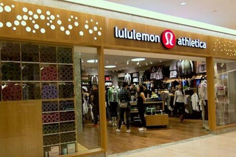 Lululemon shopfront