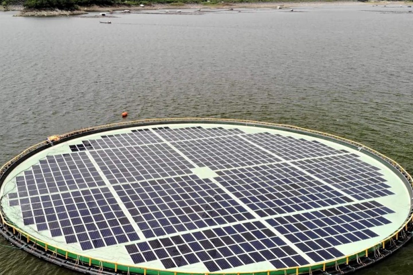 SNAP-Magat Power floating solar