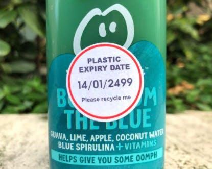 Plastic expiry date