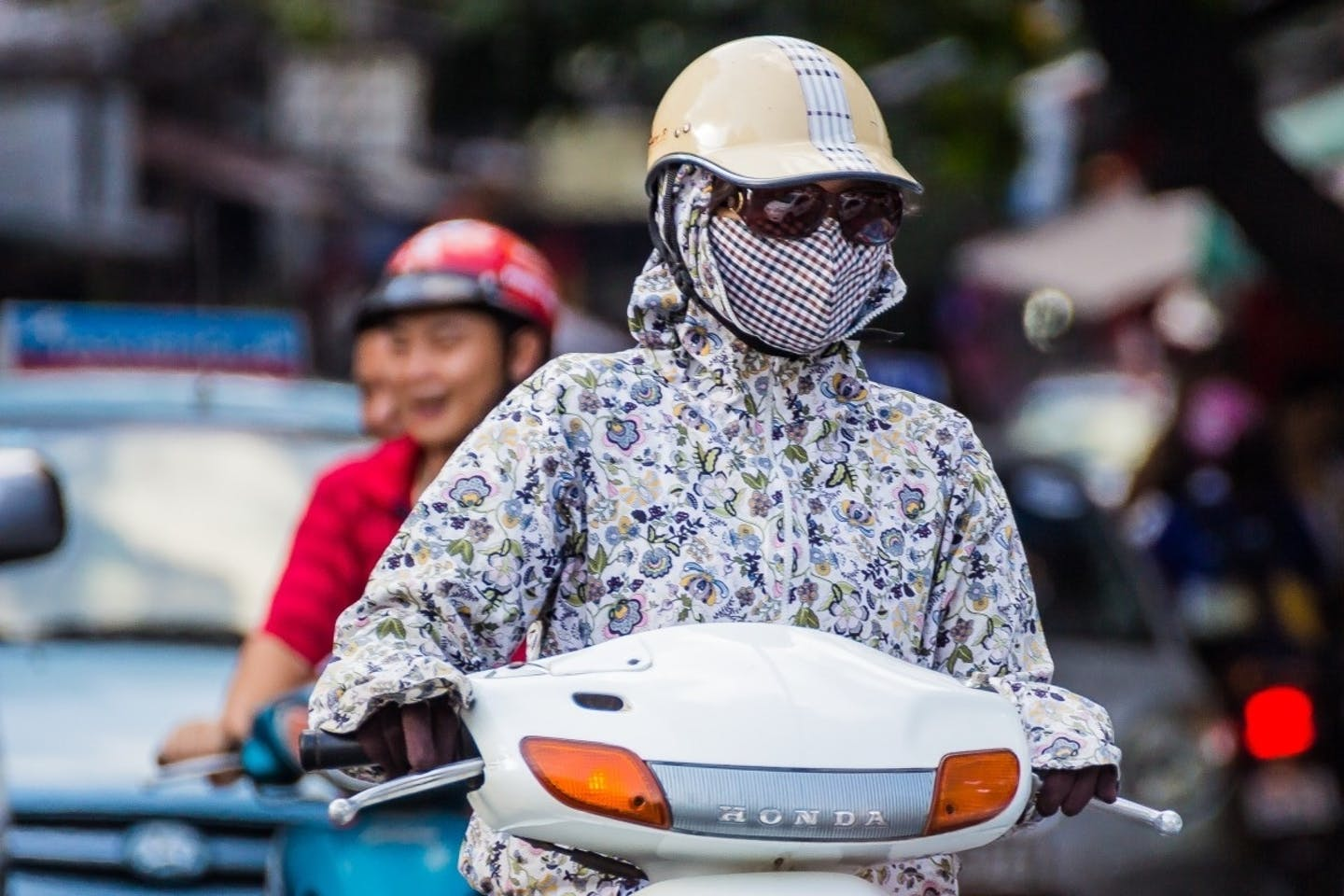 Vietnam, mask, air pollution