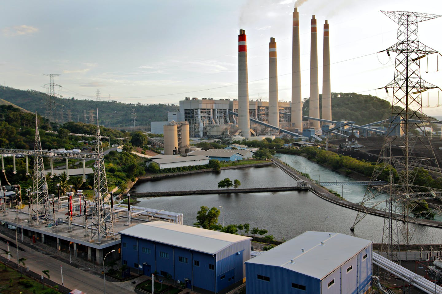 Coal power plant, Indonesia, Korean-backed