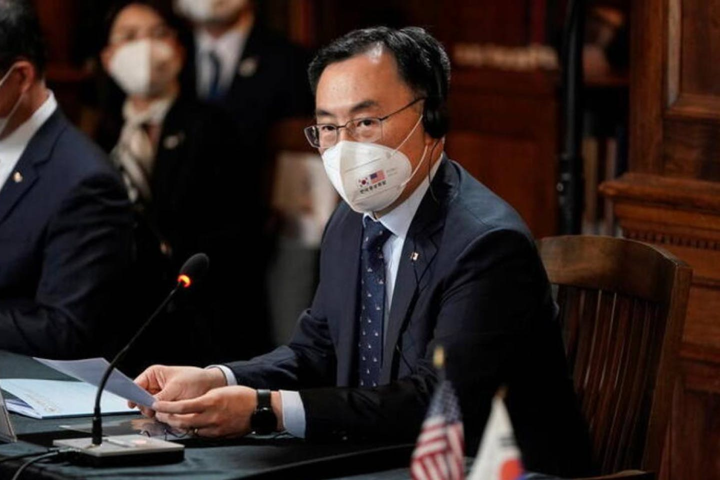 south korean minister moon sung-wook