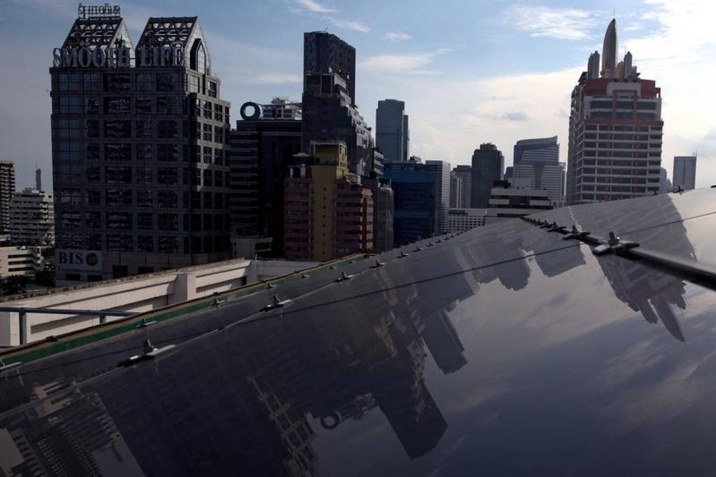 solar rooftop and blockchain in BKK