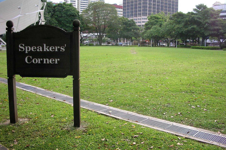 speaker's corner hong lim park singapore, wikimedia