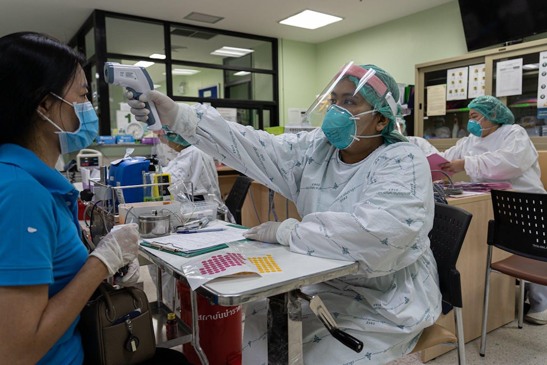 Thailand healthcare worker