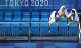 In fast-warming world, Tokyo is barometer for future Olympics