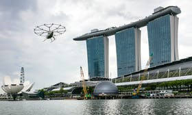 Are flying taxis the future of public transport in Singapore?