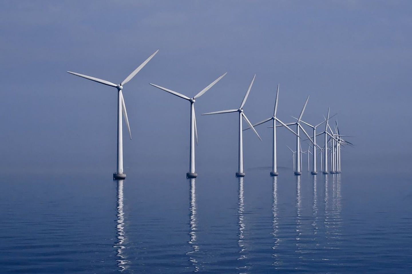 Wind farm denmark