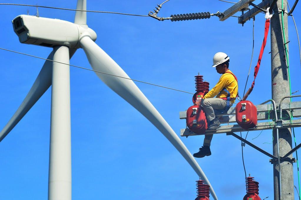 windfarm technician burgos