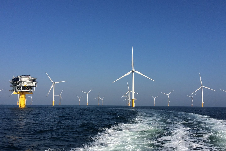windfarms in europe water