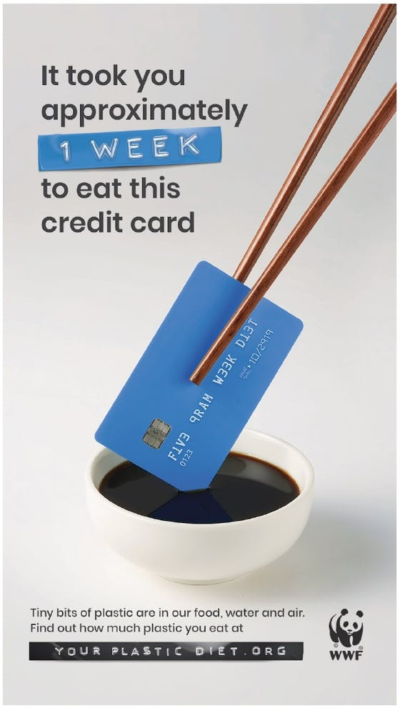 WWF your plastic diet