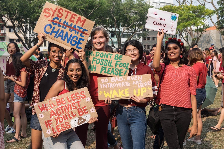 climate rally zaf