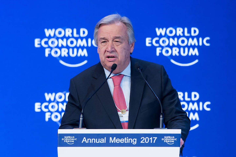 Guterres at Davos