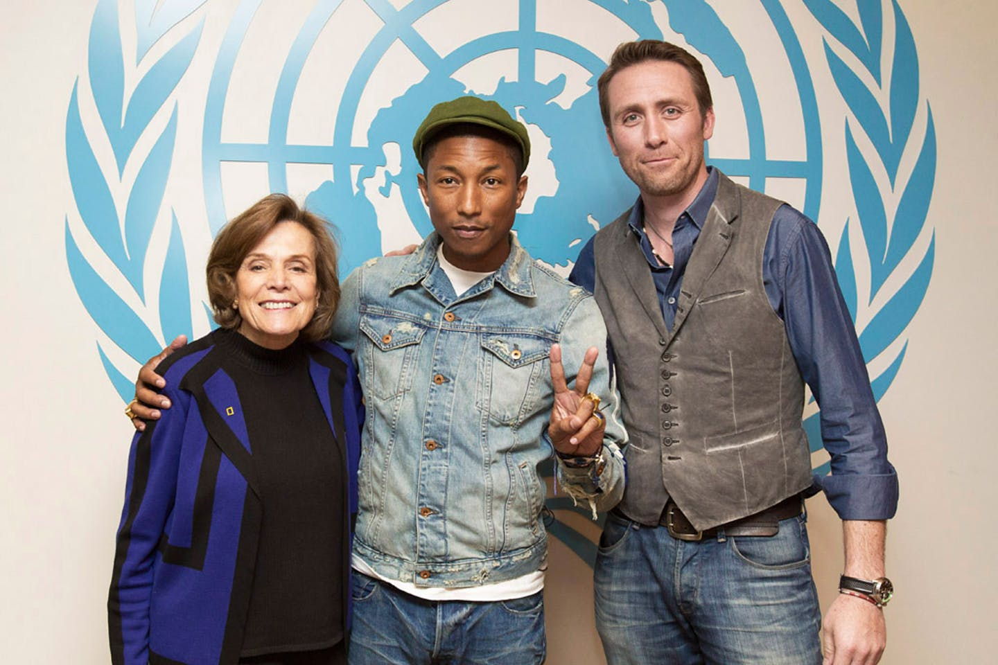 pharell williams happy UN