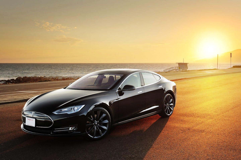 Tesla S electric vehicle