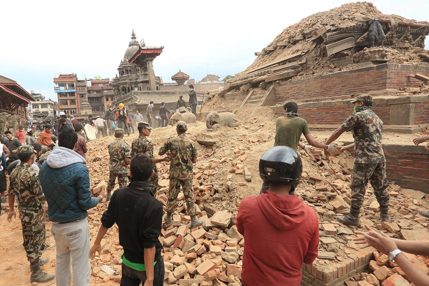 Kathmandu Valley Nepal after 2015 earthquake