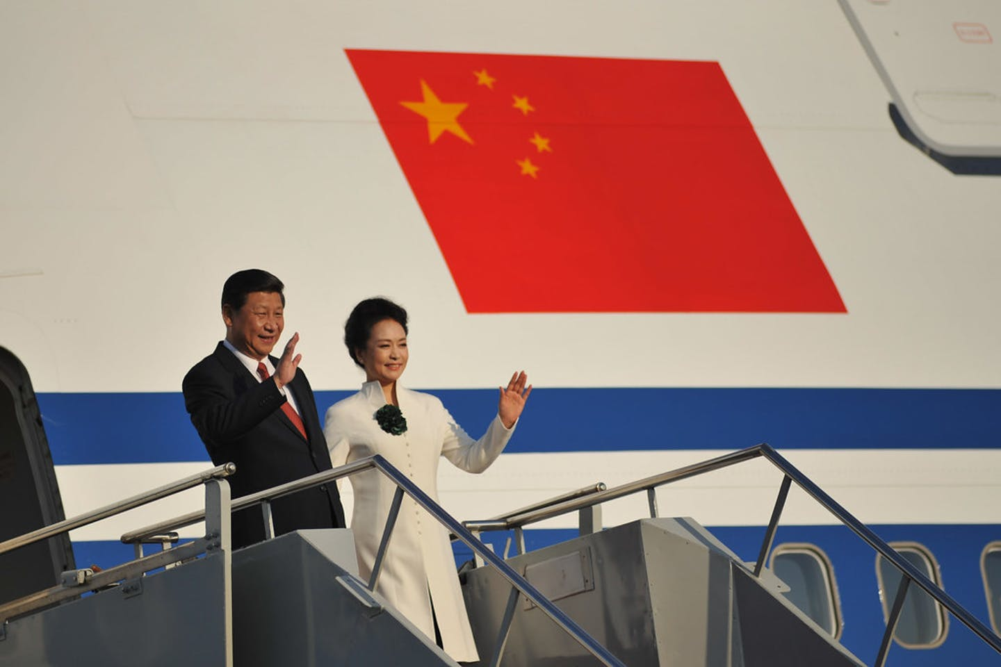 Chinese President Xi Jinping and his spouse Peng Liyuan.