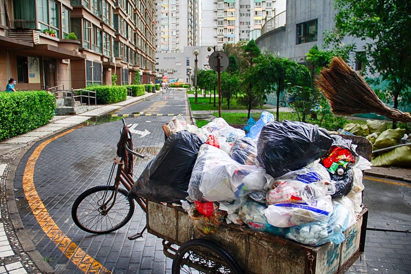 waste segregation in china
