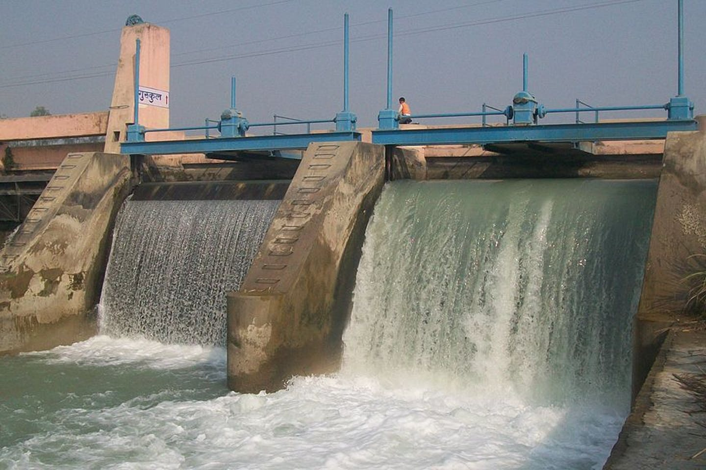 small hydropower plant