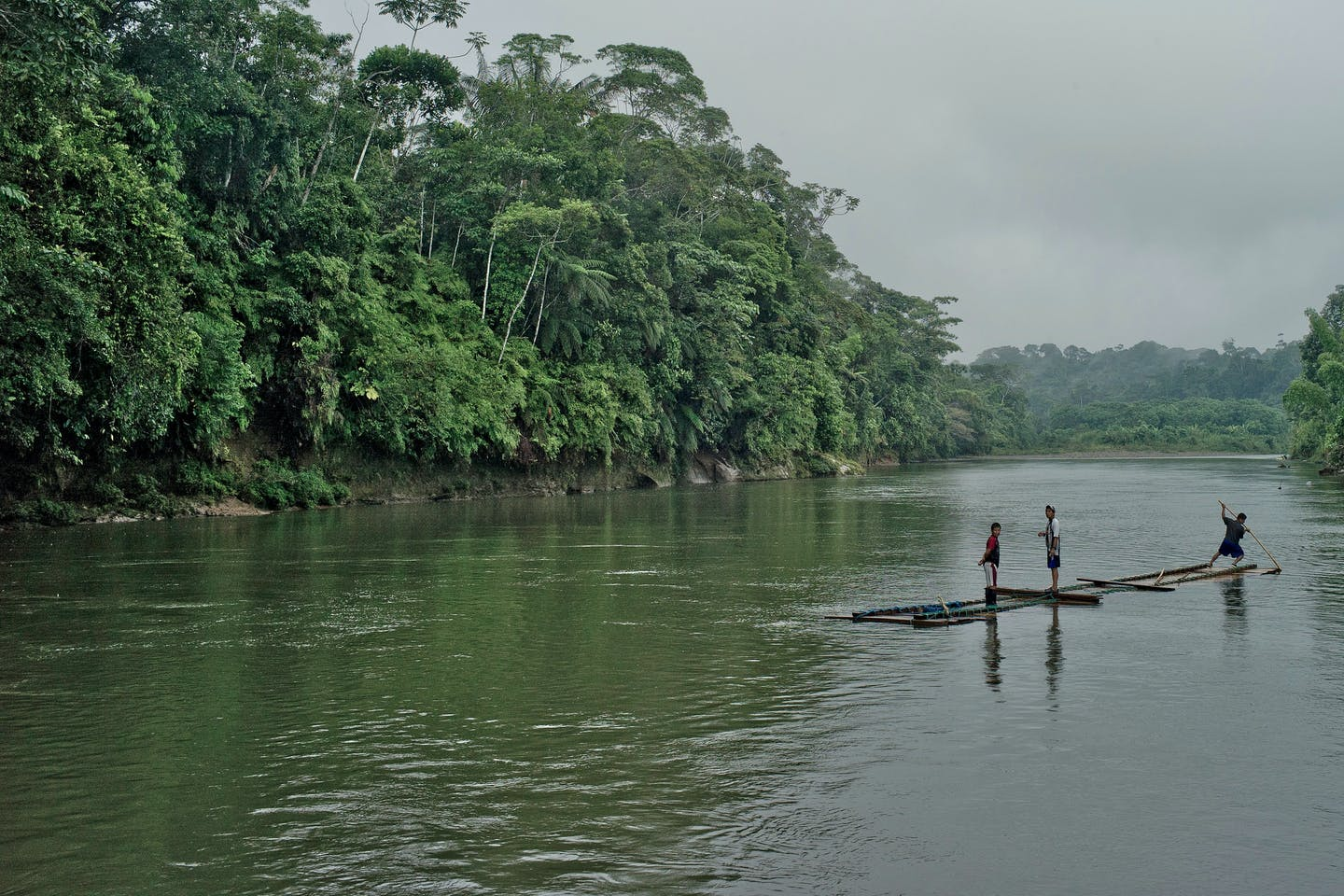 amazon forest rafting