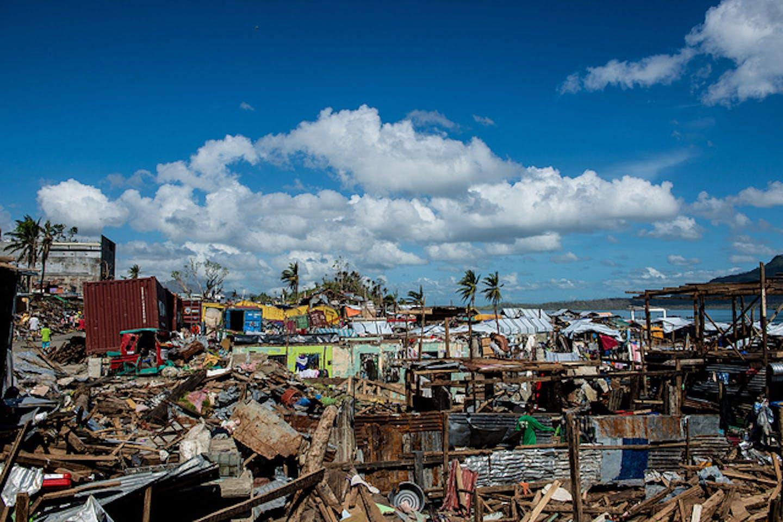 Haiyan devastation