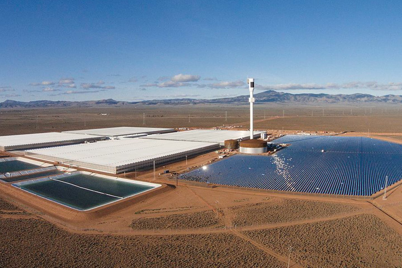 Solar farm, Australia