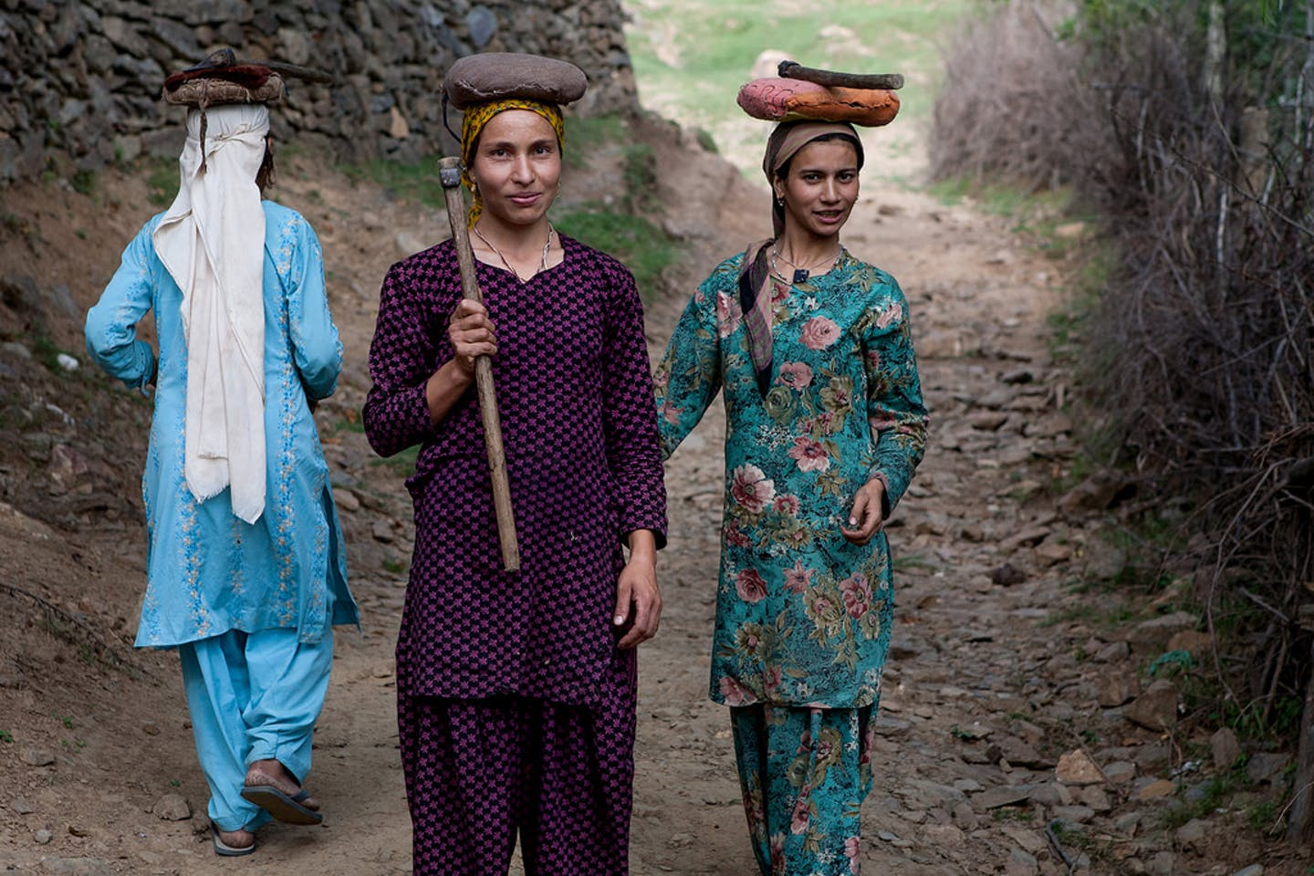 kashmir indian women