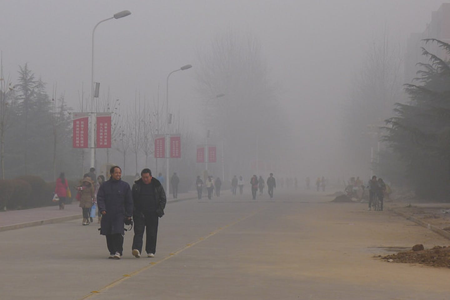 Henan China pollution