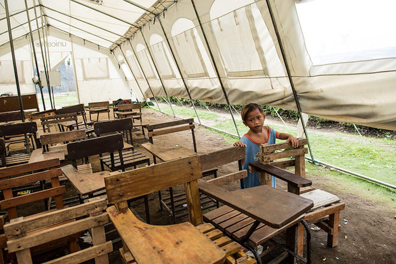 Child in Leyte PH post Haiyan
