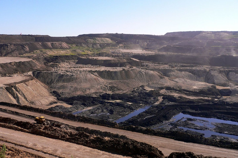 Coal mine in Inner Mongolia
