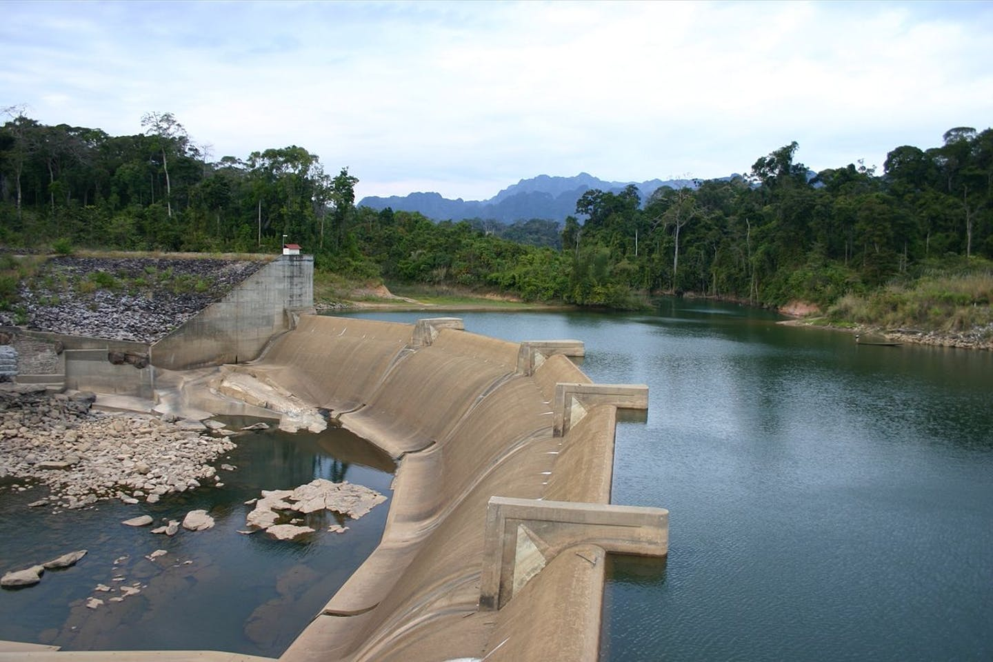 Southern Central Laos dam