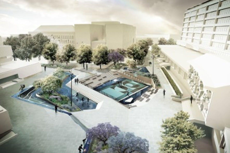 Rotterdam water plaza