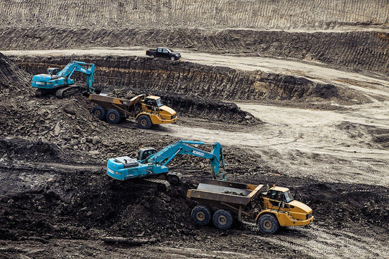 Indonesia coal mine operation